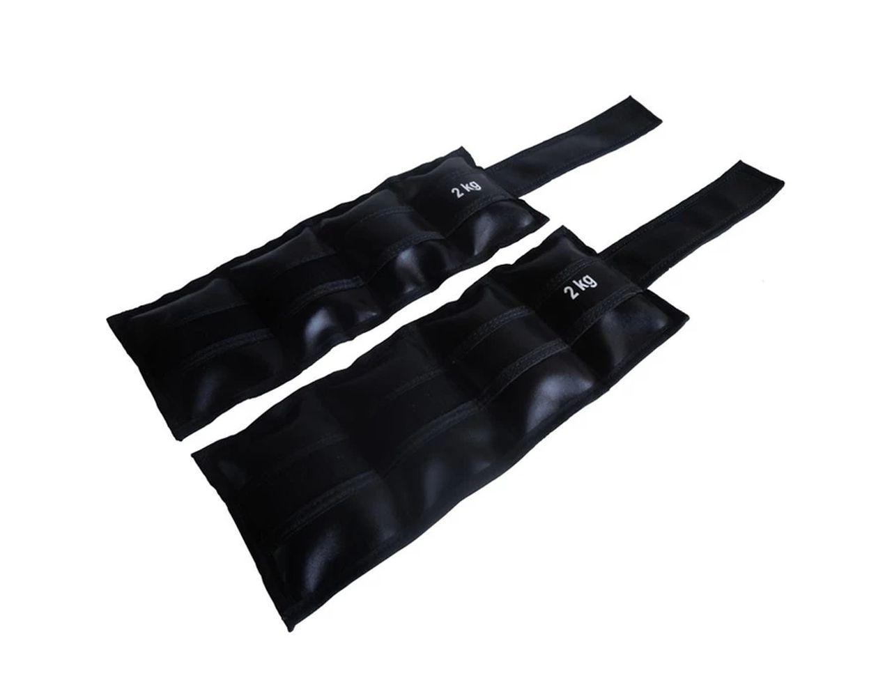 Par de Caneleiras Tornozeleira Academia Ginástica 2,0kg  - Panela de Ferro Fundido