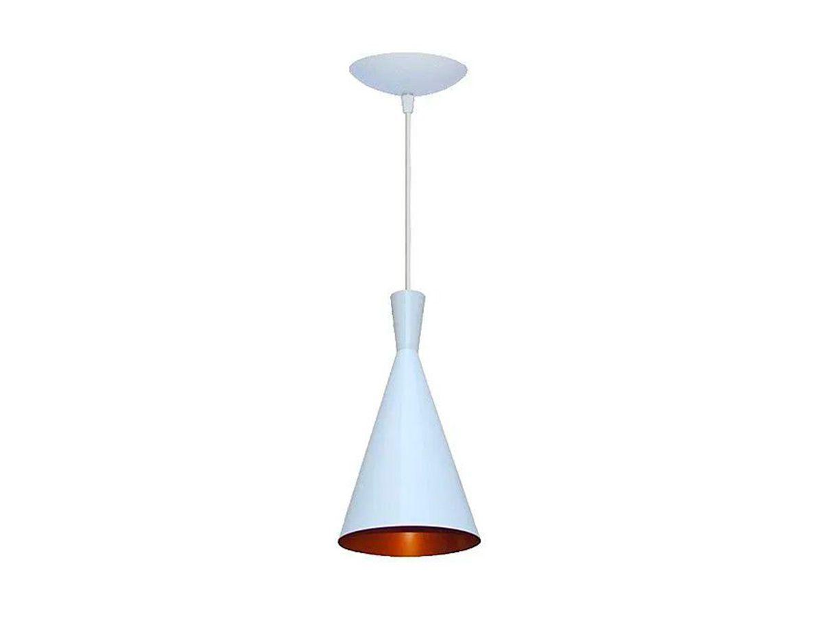 Pendente Lustre Luminária de Teto Cone em Plástico