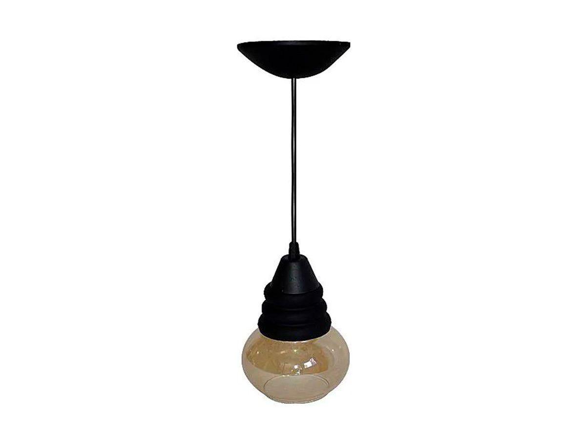 Pendente Lustre Luminária de Teto Riverside Plástico e Vidro