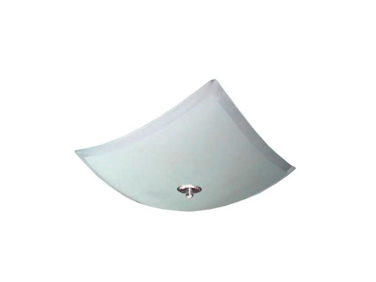 Plafon para Teto Parede Delta de Sobrepor Alumínio e Vidro  - Panela de Ferro Fundido