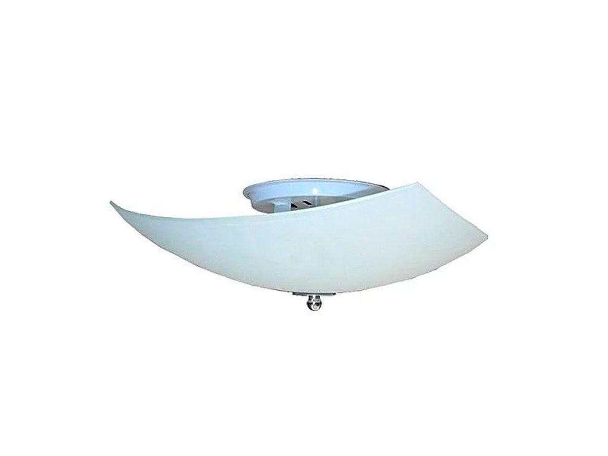 Plafon para Teto Parede Pégasus de Sobrepor Alumínio e Vidro  - Panela de Ferro Fundido