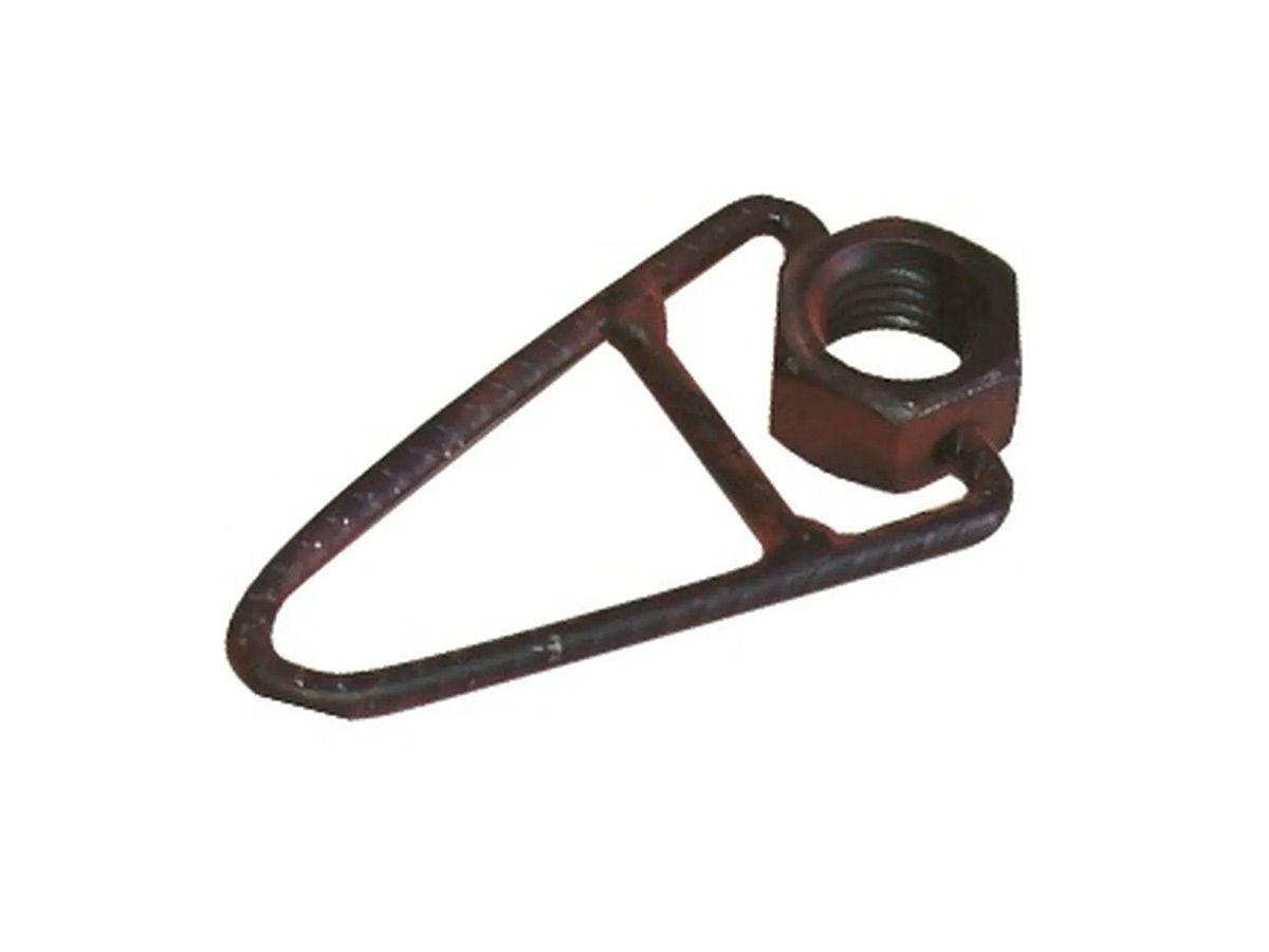 Porca com Rabicho para Macho Em Aço 5/8  - Panela de Ferro Fundido