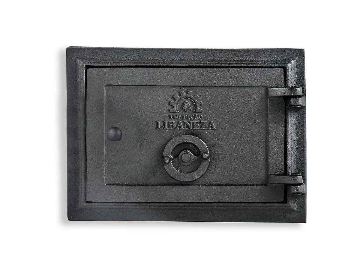 Porta Cinzeiro/fornalha Em Ferro Libaneza 13x20 Cm  - Panela de Ferro Fundido