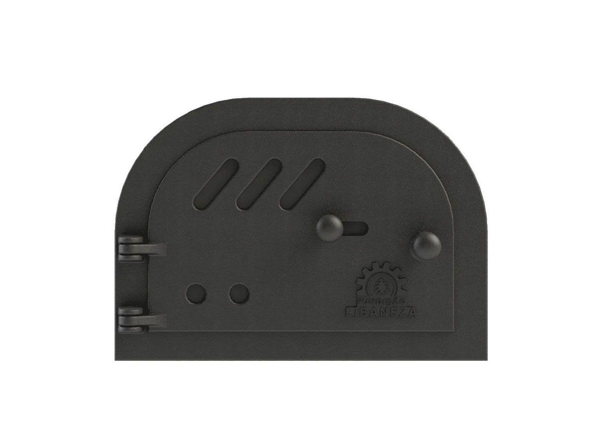 Porta Cinzeiro/fornalha Em Ferro Libaneza 19x30 Cm  - Panela de Ferro Fundido