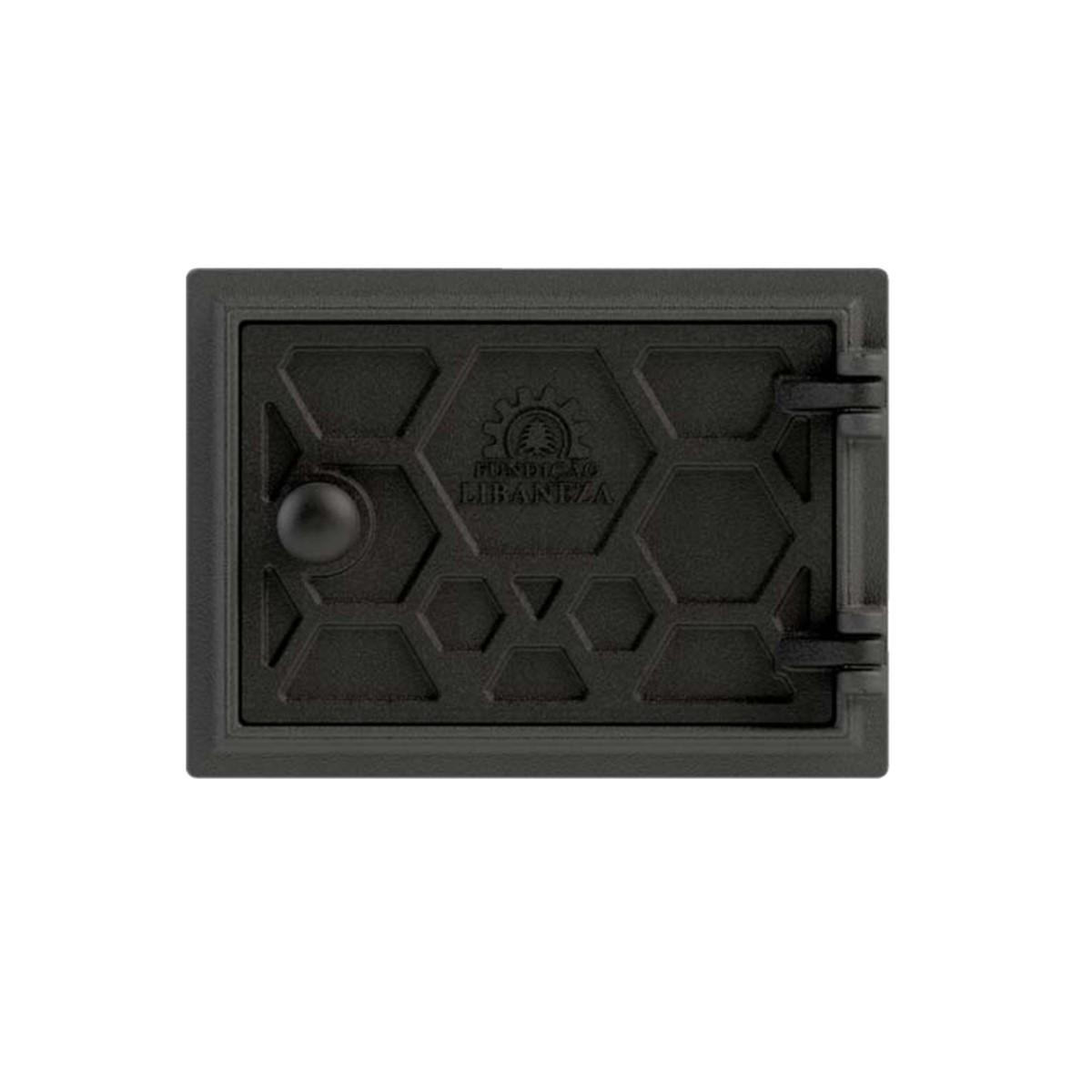 Porta Cinzeiro/fornalha Em Ferro Libaneza Colmeia 13x20 Cm P  - Panela de Ferro Fundido