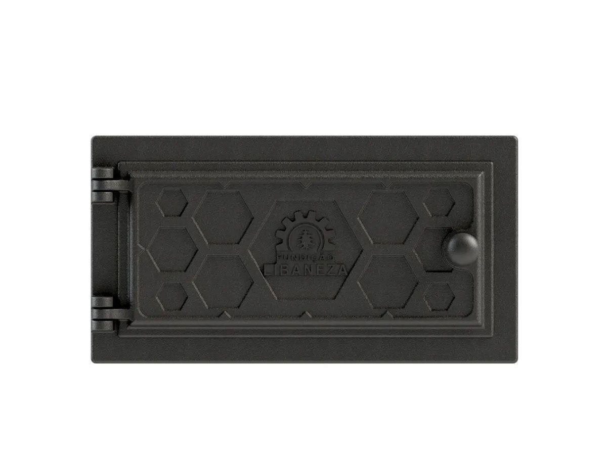 Porta Cinzeiro/fornalha Em Ferro Libaneza Colmeia 15x33 Cm G  - Panela de Ferro Fundido