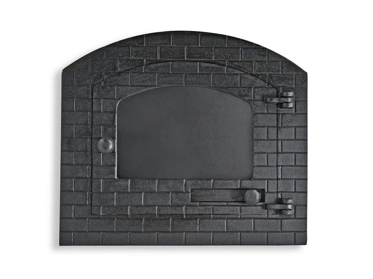 Porta Forno Ferro Fundido Igloo Com Vidro Libaneza D nadai G