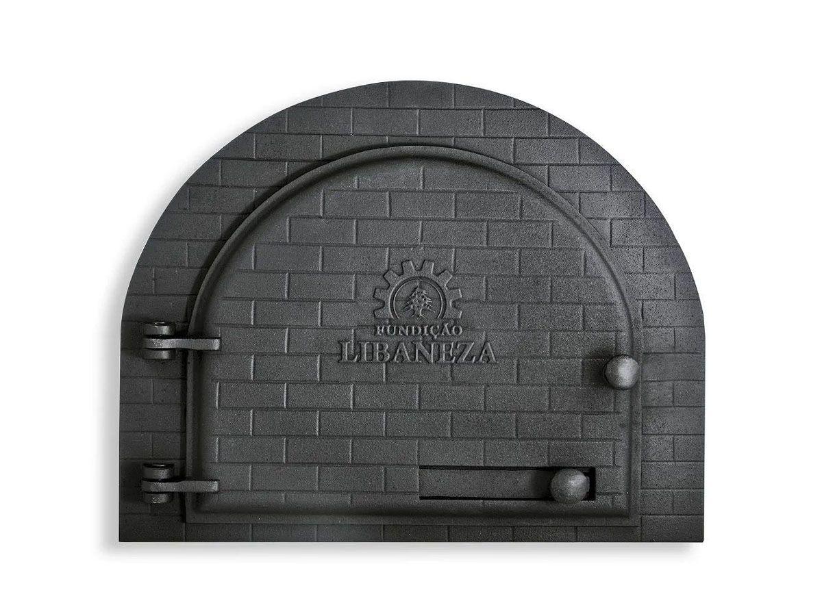 Porta Forno Ferro Fundido Igloo Libaneza 31,5x37,5cm  - Panela de Ferro Fundido