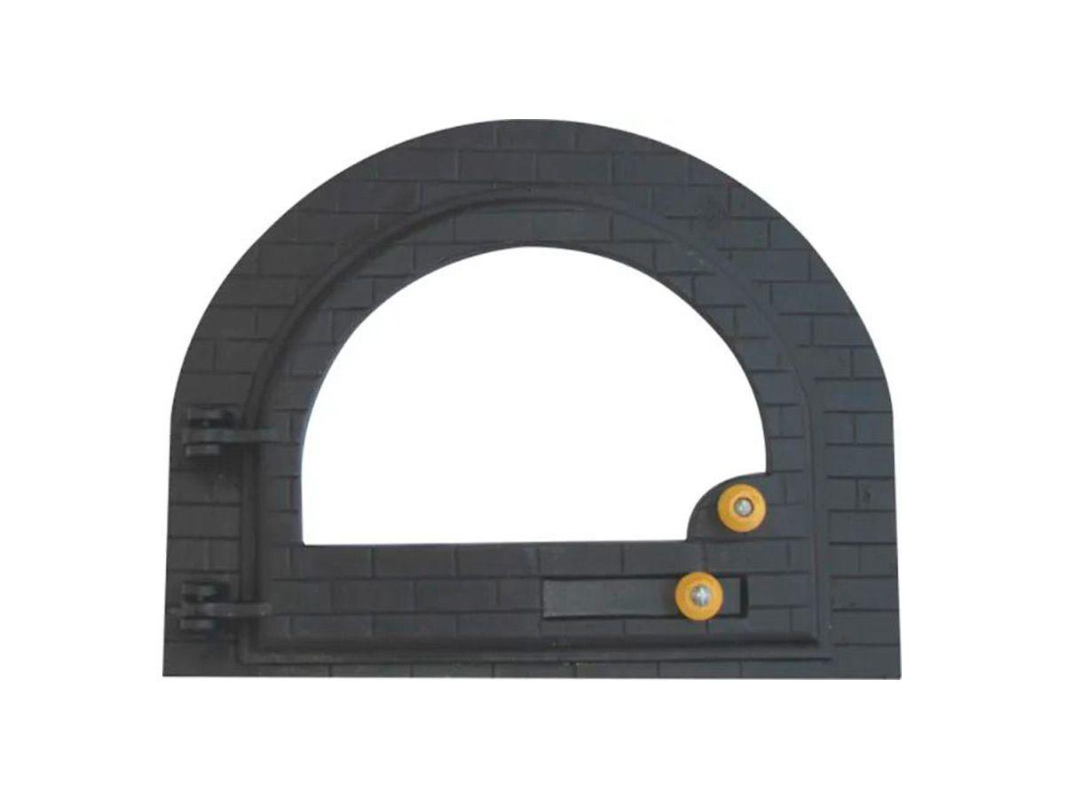 Porta Forno Ferro Fundido Igloo Vidro - Tamanho 42x53cm  - Panela de Ferro Fundido