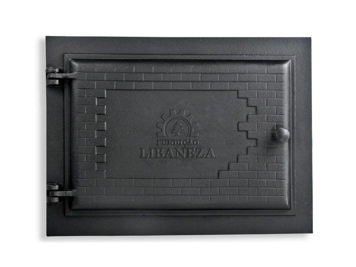 Porta Forno Ferro Fundido Libaneza 31,5x46cm Império Grill G  - Panela de Ferro Fundido