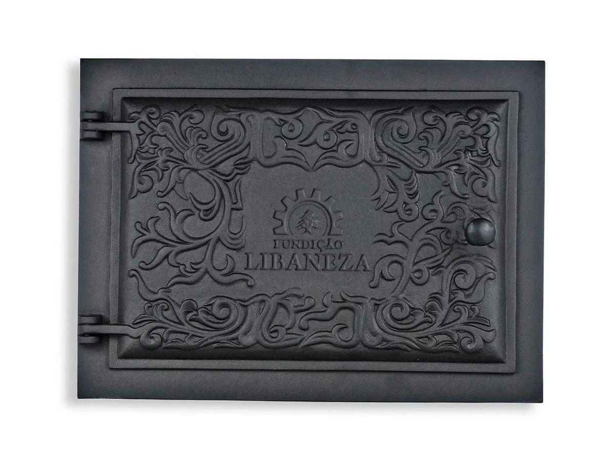 Porta Forno Ferro Fundido 31,5x16cm- Modelo Libaneza G  - Panela de Ferro Fundido