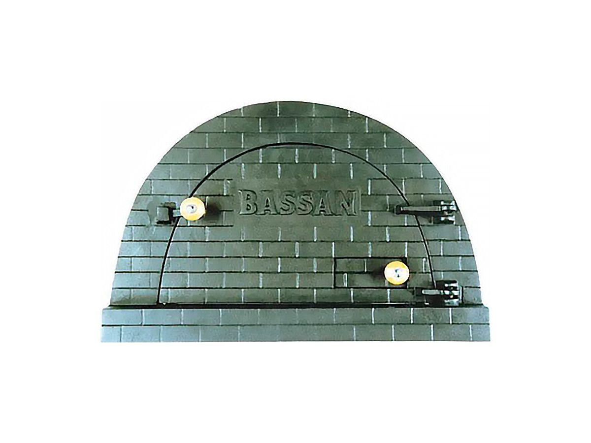Porta Forno Ferro Fundido P/ Pizza Bassan 37x53,5cm  - Panela de Ferro Fundido
