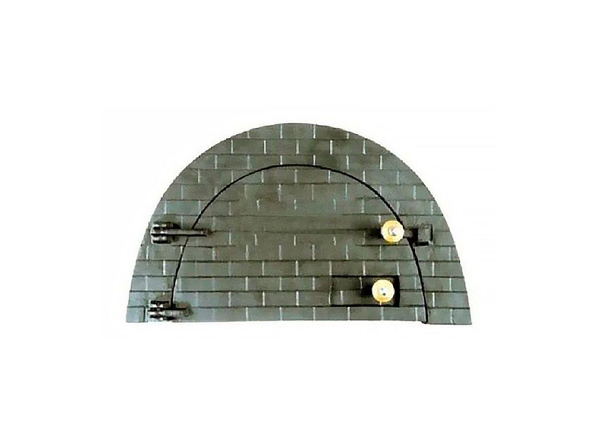 Porta Forno Ferro Fundido P/ Pizza Boquinho 53x32cm  - Panela de Ferro Fundido