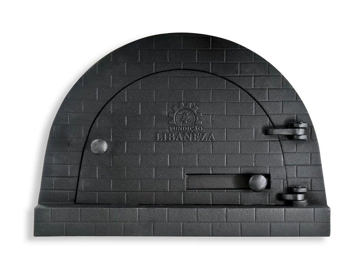 Porta Forno Ferro Igloo Com Soleira Libaneza 24,5x38,5cm  - Panela de Ferro Fundido