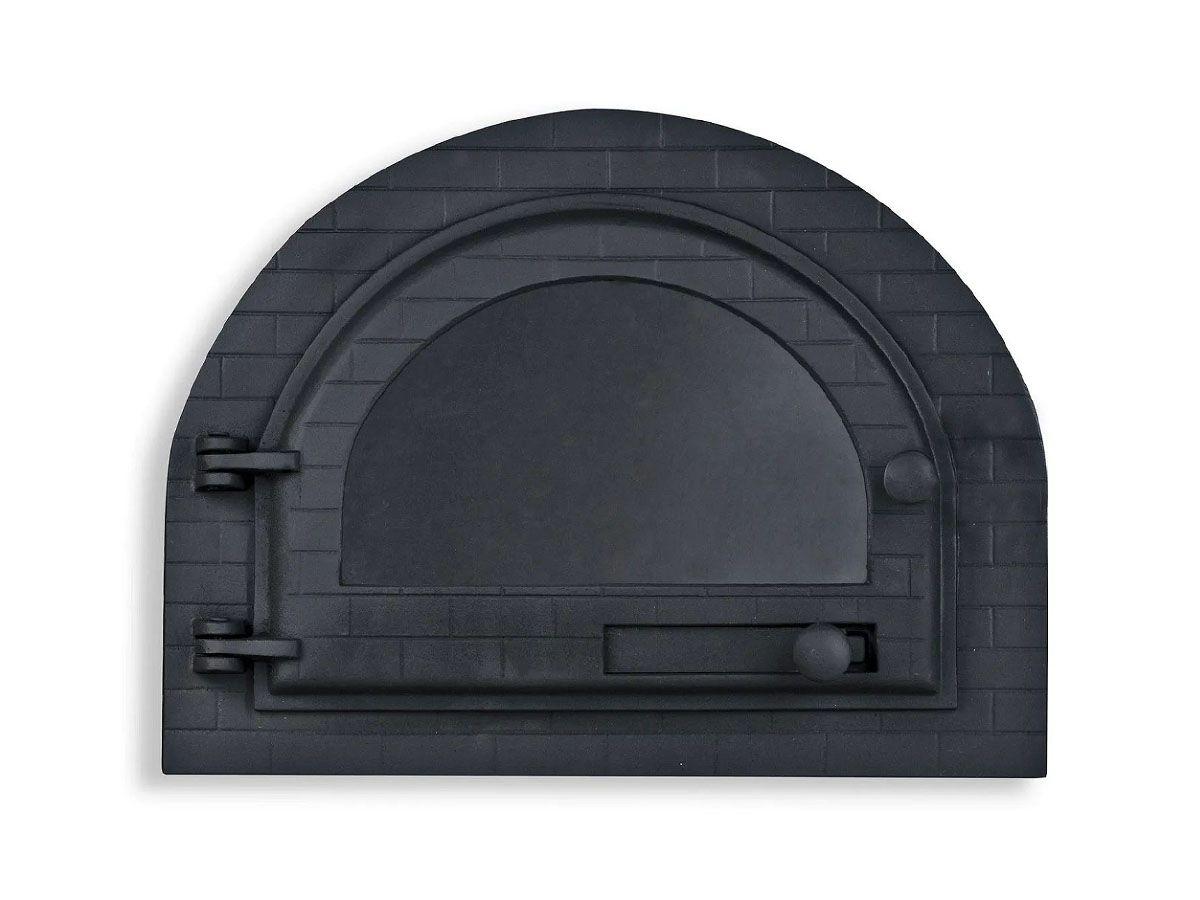 Porta Forno Ferro Igloo Com Vidro Libaneza 31x42cm