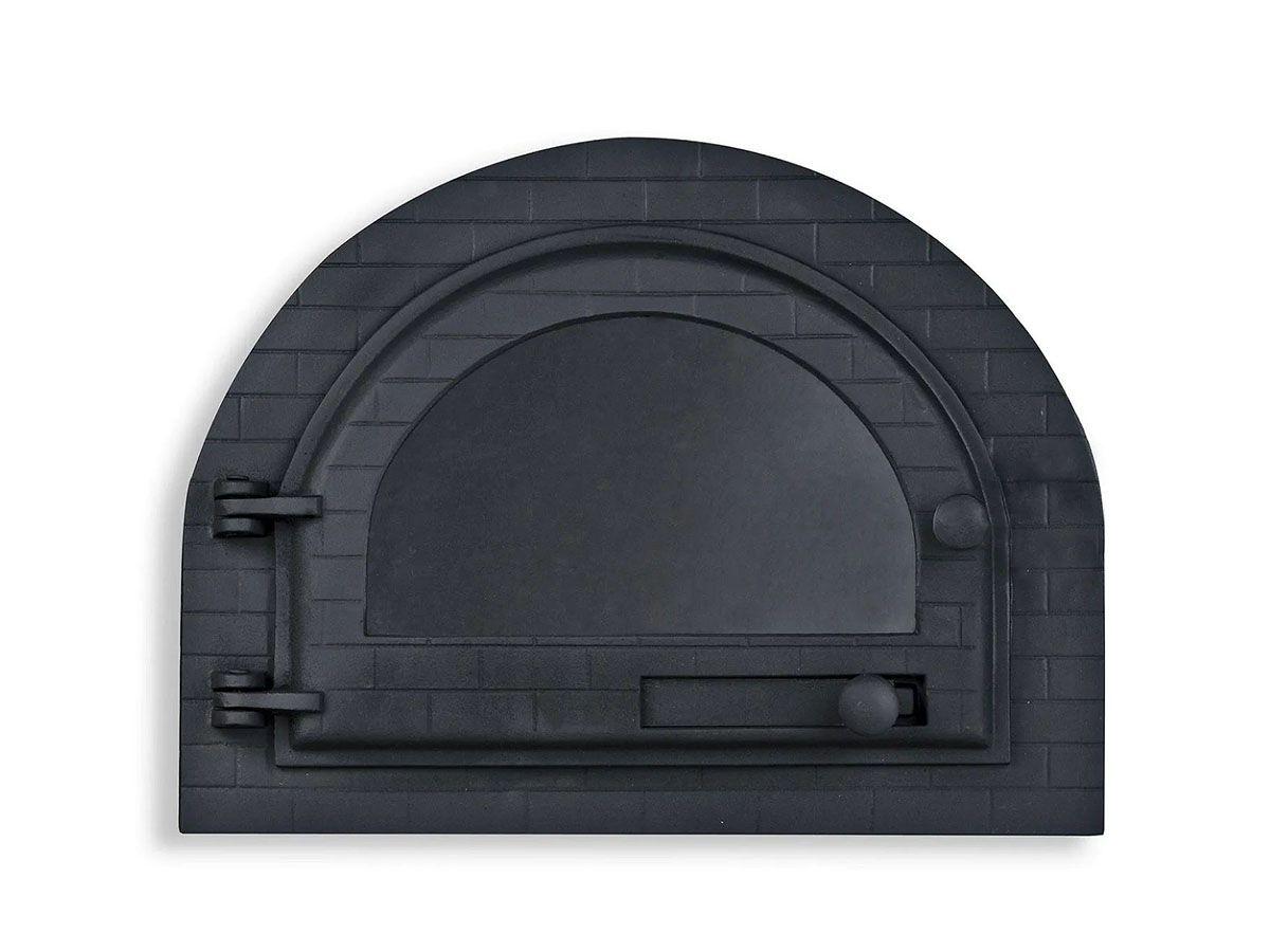 Porta Forno Ferro Igloo Com Vidro Libaneza 31,0x36,5cm