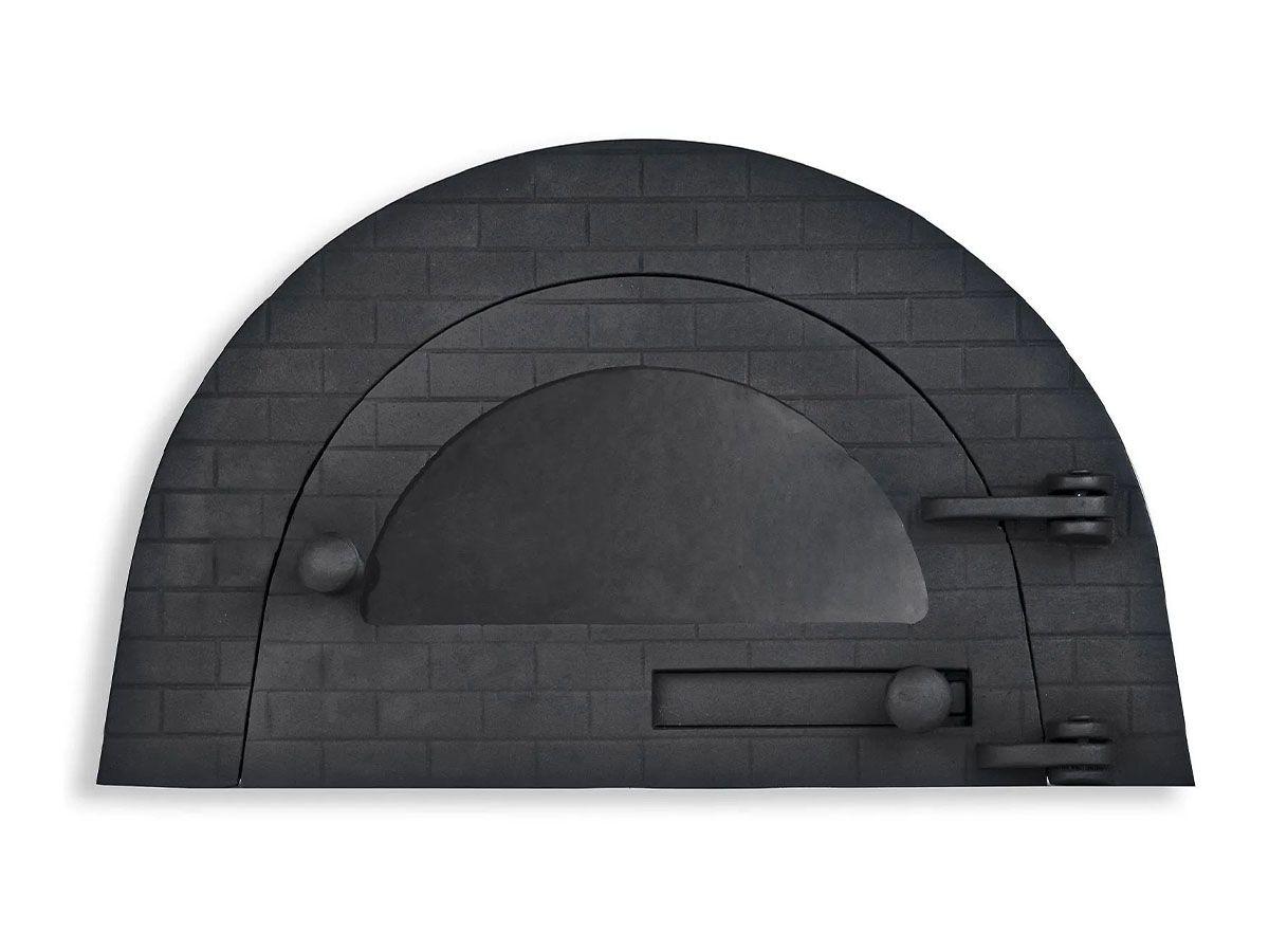 Porta Forno Ferro Igloo Com Vidro Libaneza 24,5x38,5cm  - Panela de Ferro Fundido