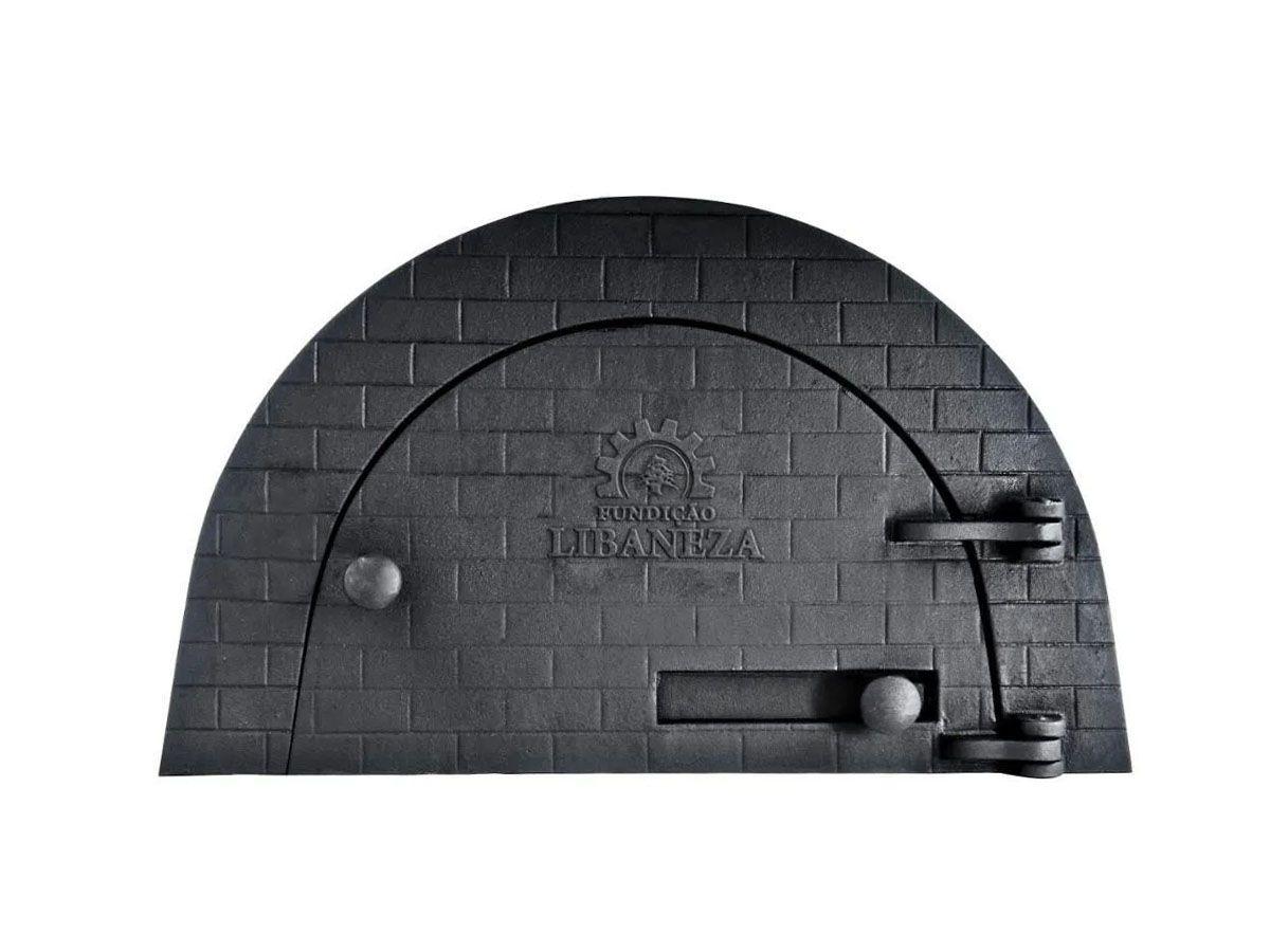 Porta Forno Ferro Igloo Sem Soleira Libaneza 24,5x38,5cm  - Panela de Ferro Fundido