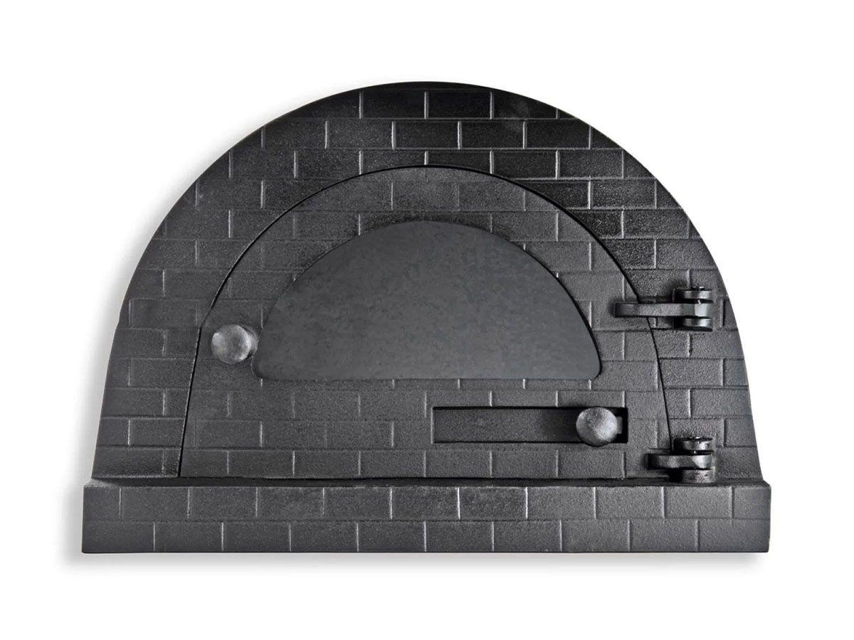 Porta Forno Ferro Igloo Vidro Soleira Libaneza 24,5x38,5cm  - Panela de Ferro Fundido