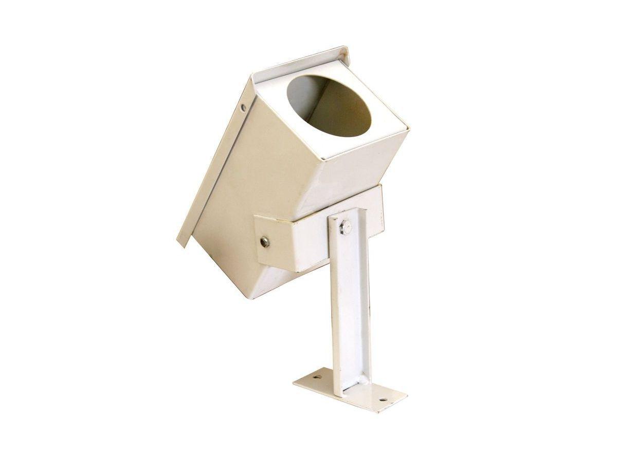 Proteção De Câmera Eletrônica Branco (bullet) 11x23x9cm