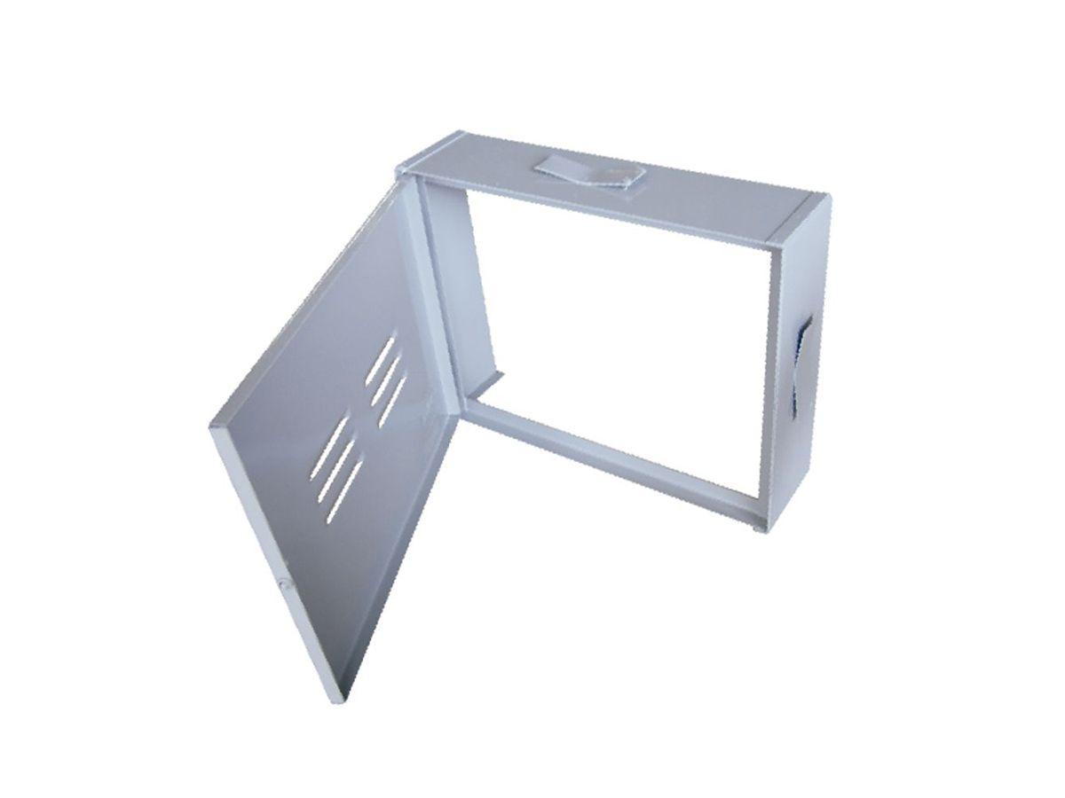 Proteção Hidrômetro Chapa Fechada Com Porta 30x40cm  - Panela de Ferro Fundido