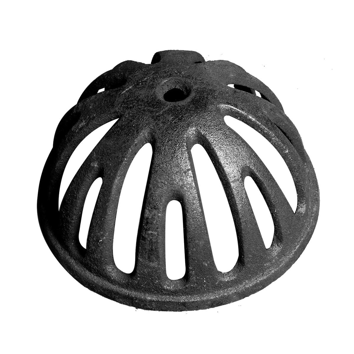 Ralo Semi Esférico Tipo Abacaxi 50mm Diâmetro 2 Polegadas  - Panela de Ferro Fundido