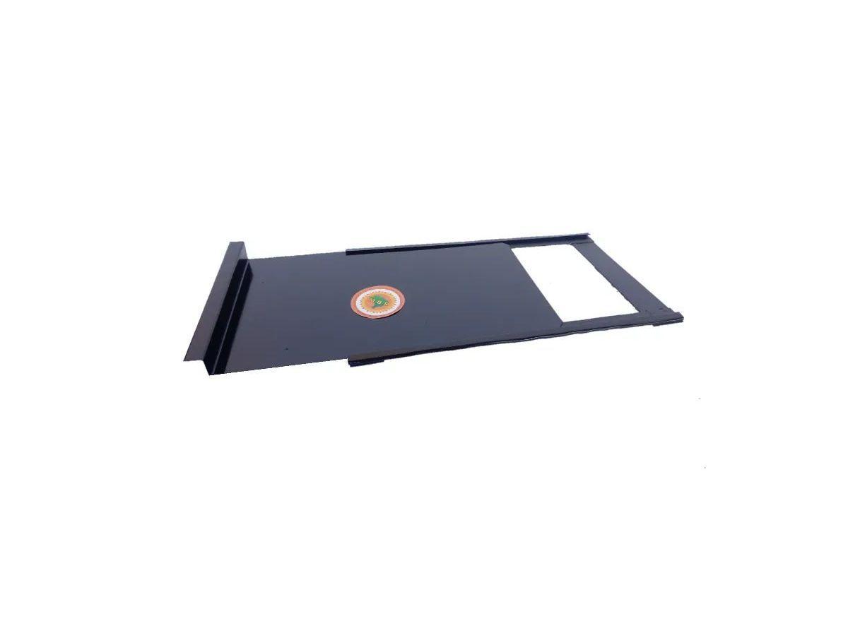 Registro Para Fogão A Lenha Chapa Galvanizada 0,20mm 35x23cm  - Panela de Ferro Fundido