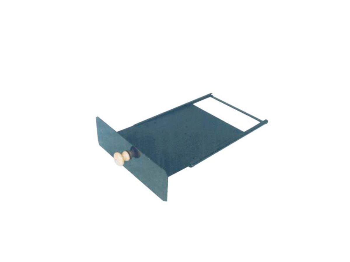 Registro Regulador Fumaça Fogão A Lenha 34x24x10cm  - Panela de Ferro Fundido