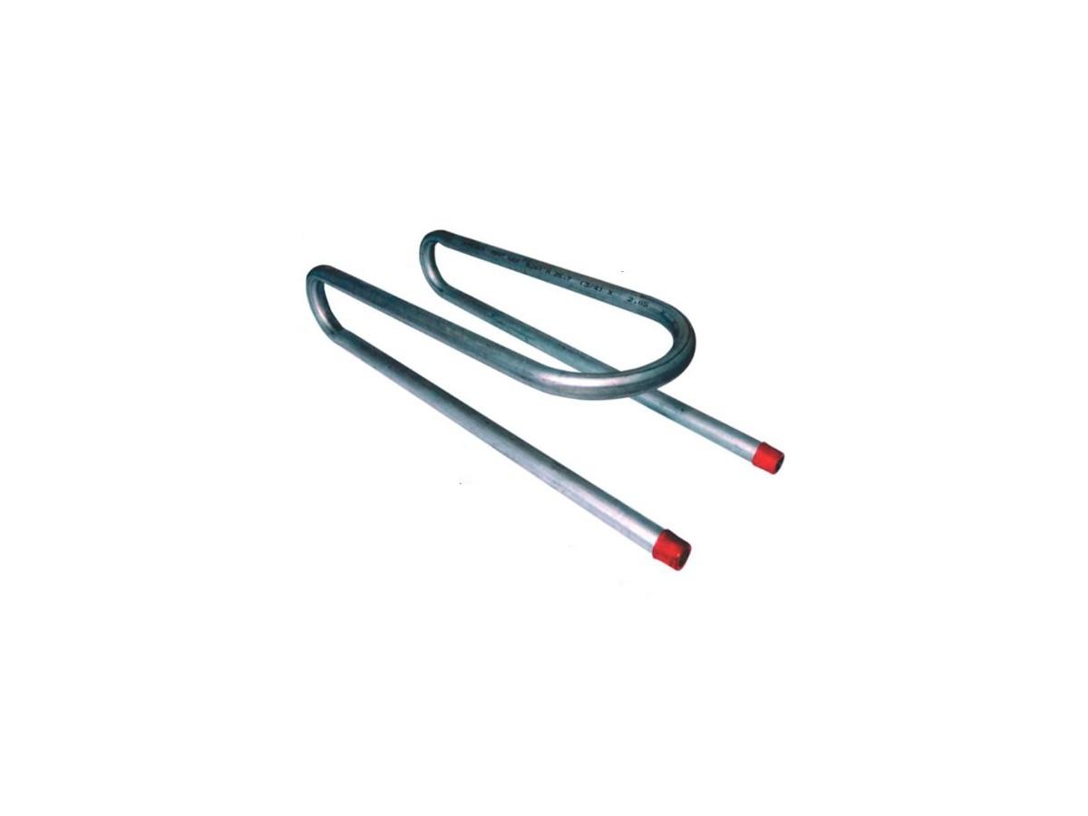 Serpentina Para Fogão De Lenha Cano Preto Ferro 3/4  - Panela de Ferro Fundido