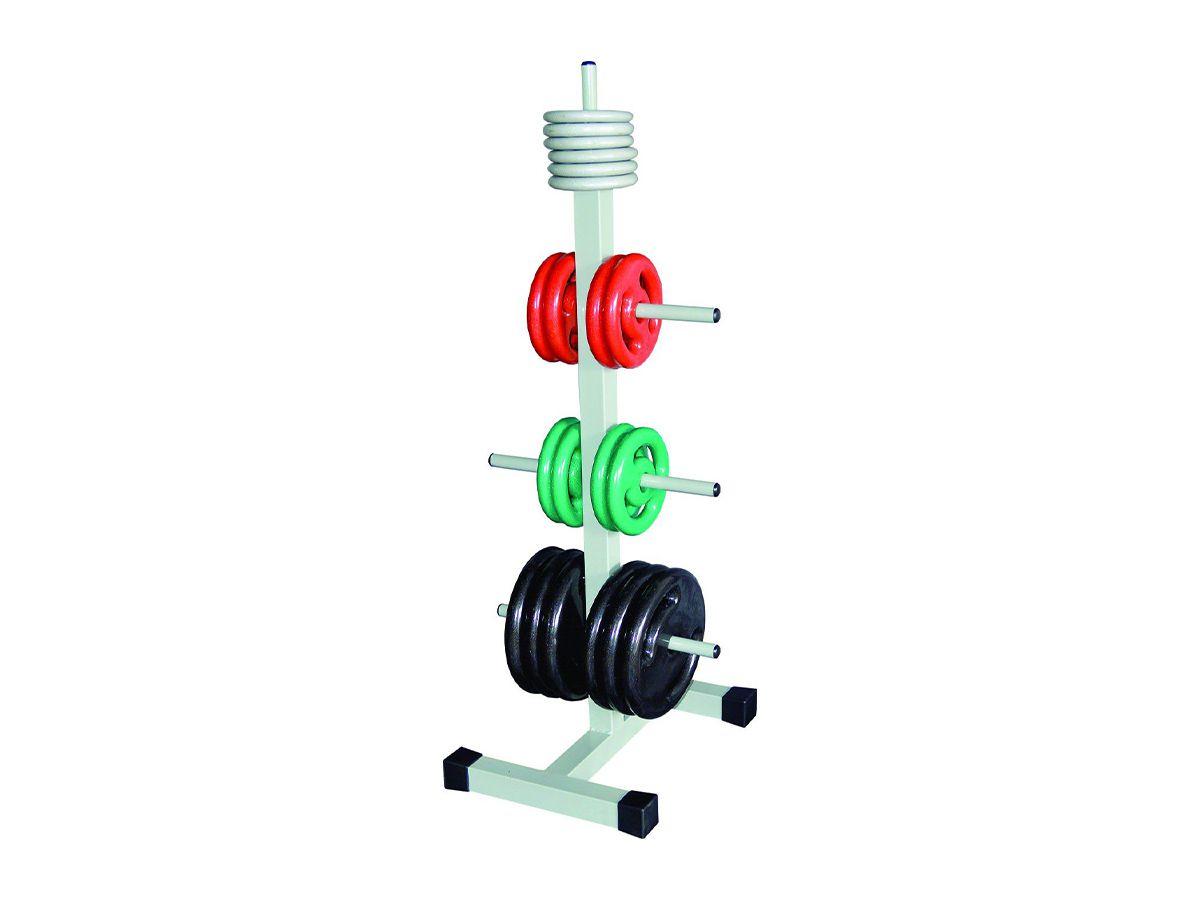 Suporte Expositor de Anilhas Academia Musculação 300kg