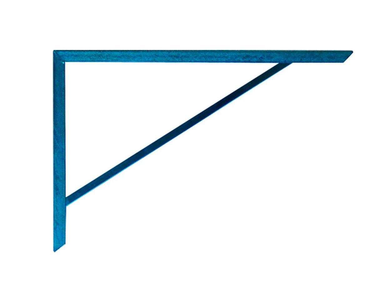 Suporte Prateleira Mão Francesa Cantoneira Medidas: 26x2x33  - Panela de Ferro Fundido