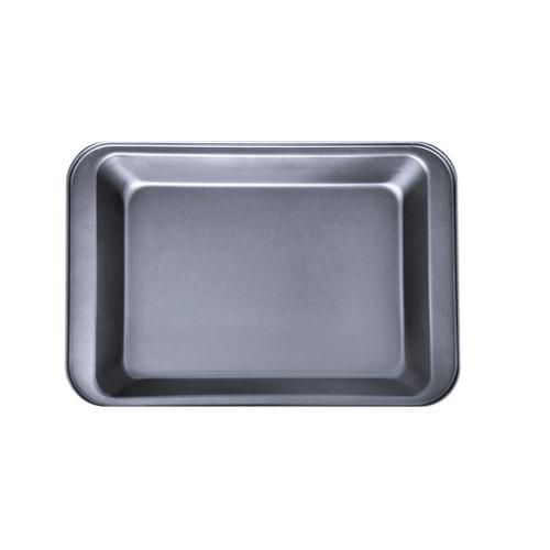 Tabuleiro Assadeira Ret. Alumínio Teflon Antiaderente Nº 3  - Panela de Ferro Fundido