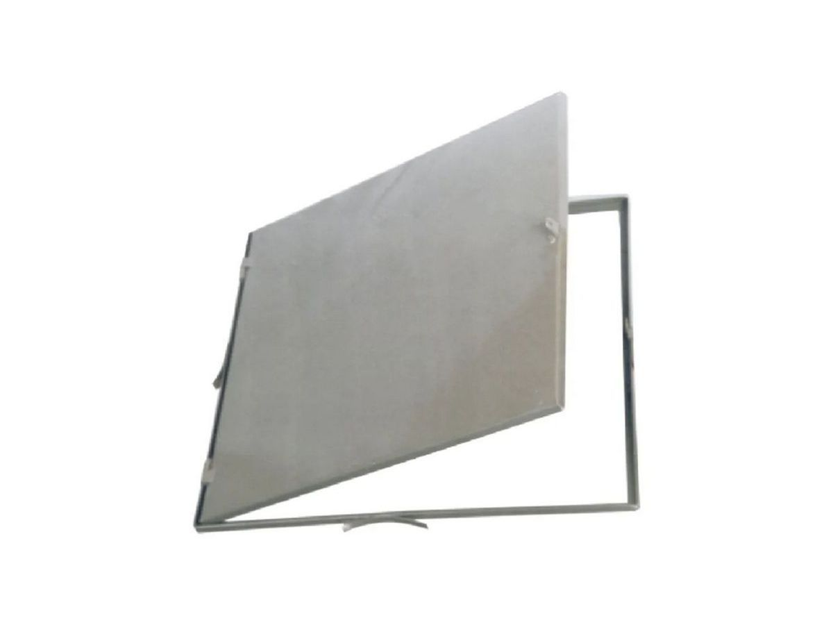 Tampa Alçapão Em Chapa Aço Carbono 53x63cm  - Panela de Ferro Fundido