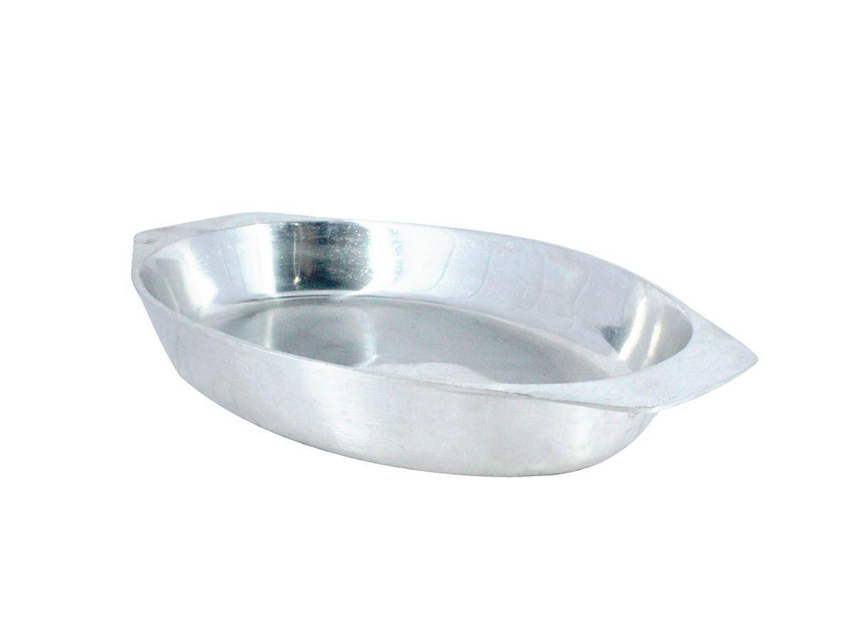 Travessa para Porções Alumínio Fundido Polida N03  - Panela de Ferro Fundido