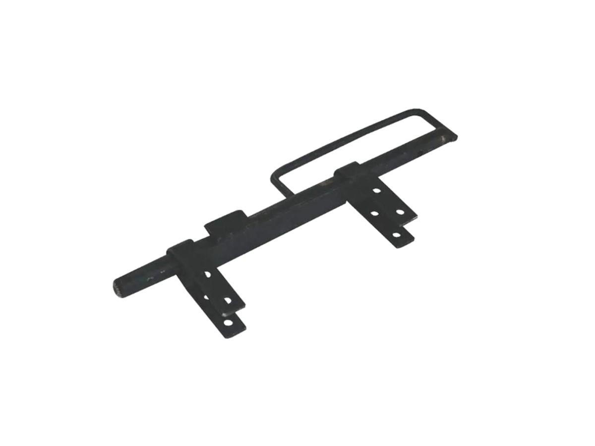 Trinco Cavalo c/ Alça Para Portão e Porteira Aço Preto 370mm  - Panela de Ferro Fundido