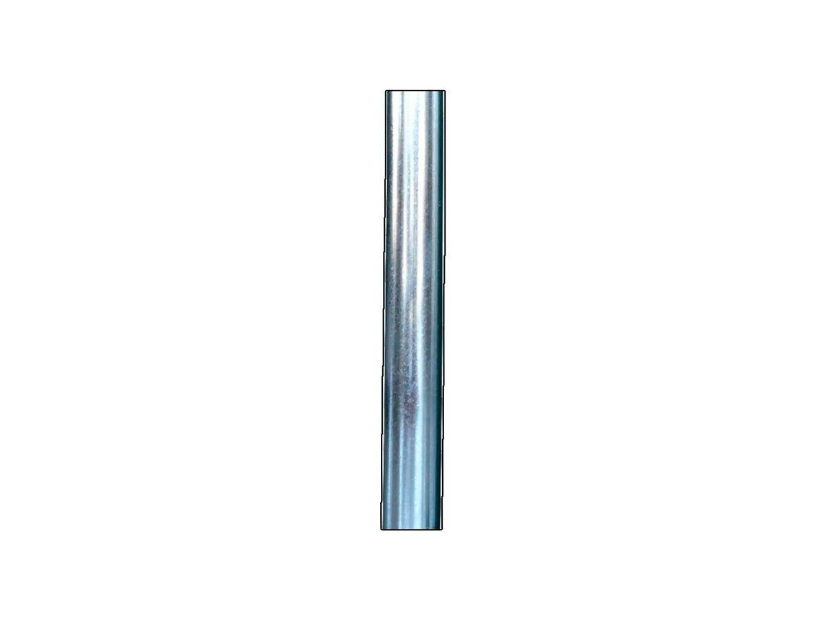 Tubo/cano para Chaminé de Chapa Galvanizada 10cm de Diâmetro  - Panela de Ferro Fundido