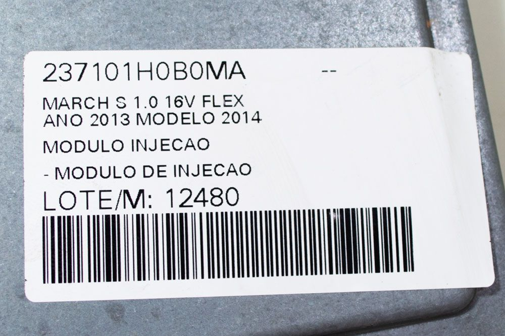 MODULO DE INJECAO NISSAN MARCH 1.0 2014