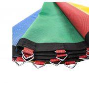 Lona de Salto para Cama Elástica de 4,27 m com 88 Ganchos Quadricolor Canguri