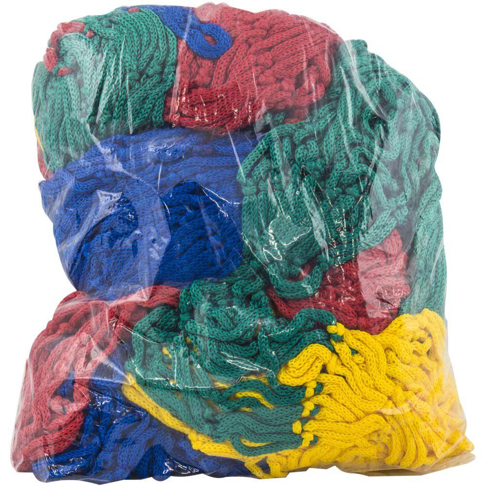 Rede de Proteção Colorida para Piscina de Bolinha 1,5x1,5 m Canguri