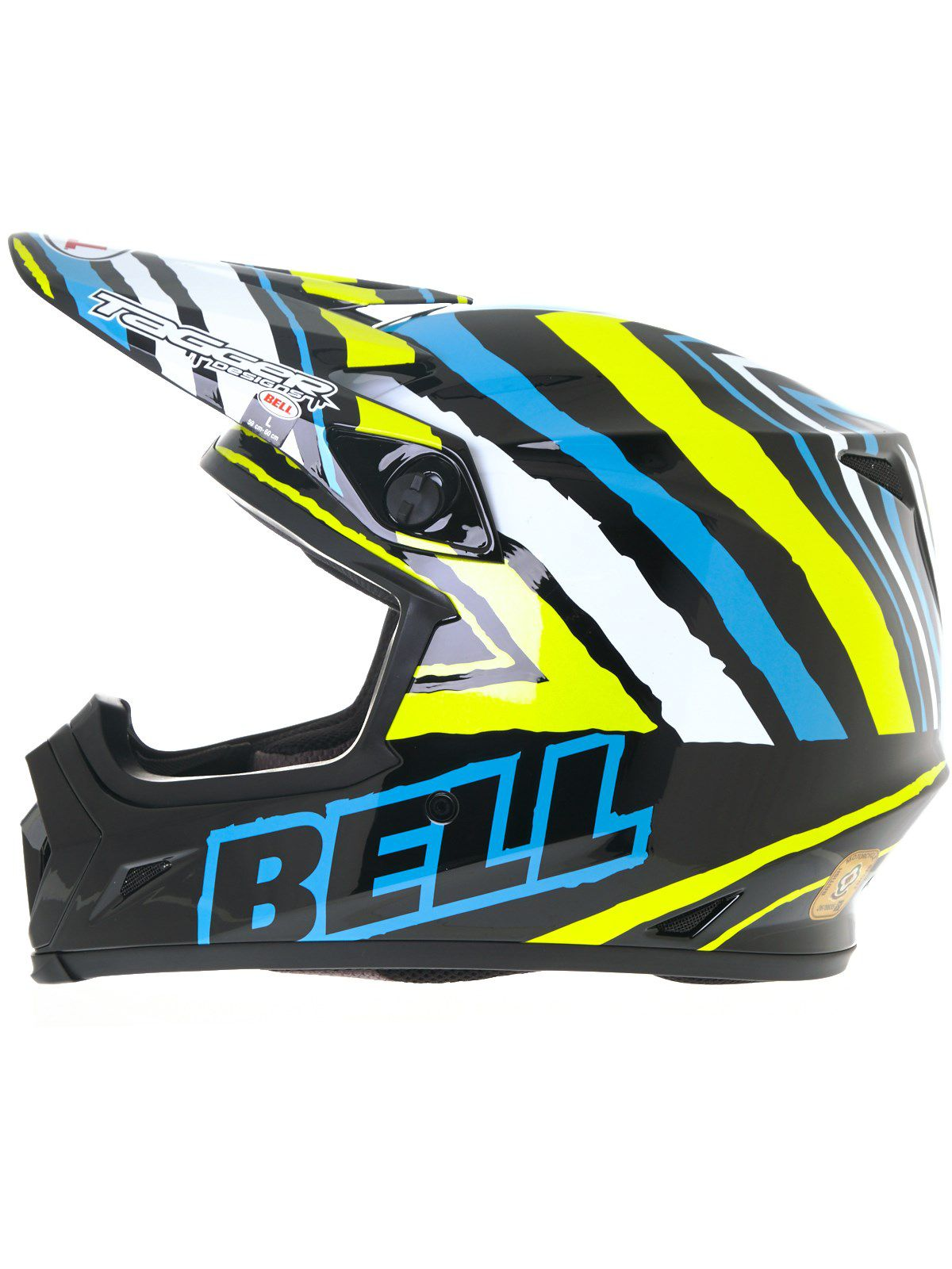 CAPACETE BELL MX 9 TAGGER SCRUB PSYCHO - OFF ROAD