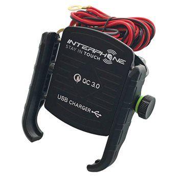 SUPORTE P/ CELULAR MOTOCRAB USB INTERPH,
