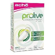 Prolive Alimento Probiótico 55mg - 15 Cápsulas