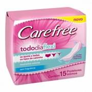 ABSORVENTE CAREFREE TODO D FLEX C/15