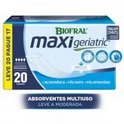 ABSORVENTE GERIATRICO MAXI GERIAT LEVE 20 PAGUE 17