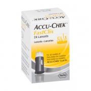 ACCU-CHEK LANCETAS C/24 FASTCLIX