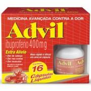 ADVIL EXTRA ALIVIO 400MG 16CPS