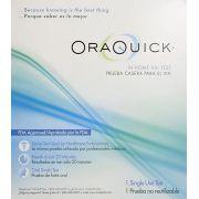 Auto-teste de HIV  OraQuick  kit com 1 unidade