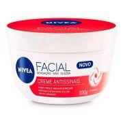 Creme Hidratante Facial Antissinais Nivea 100g