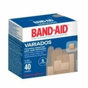 CURATIVO BAND-AID C/40 UNIDADES  VARIADOS