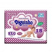 FRALDA DIGUINHO PLUS SXG C/18